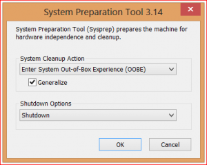 Using SYSPREP Before Creating a System Image