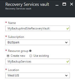 Backing Up Azure ARM VMs with Backup and Site Recovery